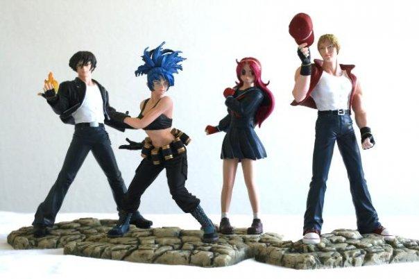 new kof xii figurines