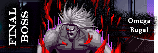 King of Fighters 95 Final Boss - Omega Rugal