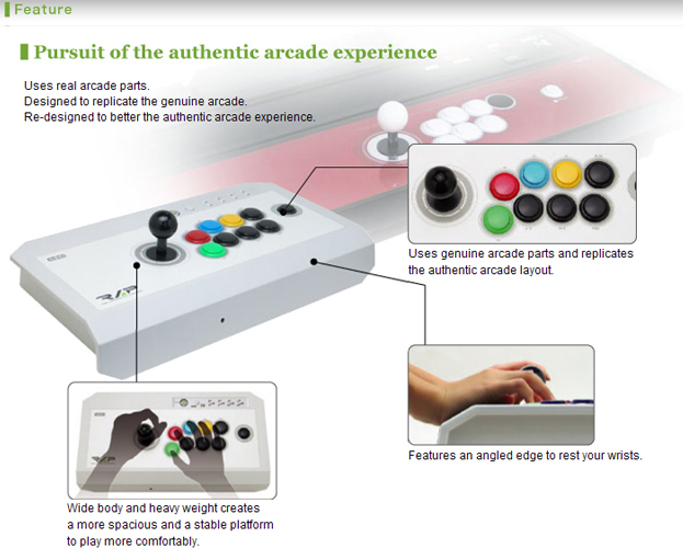 Arcade Buttons Layout